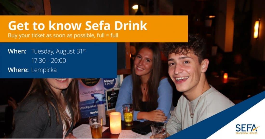 Get to know sefa drink