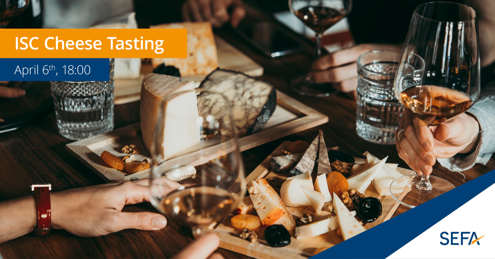 ISC cheese tasting