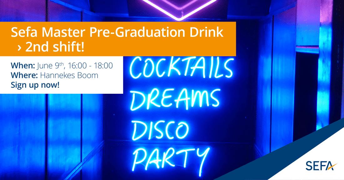 MCC pre grad drink shift 2