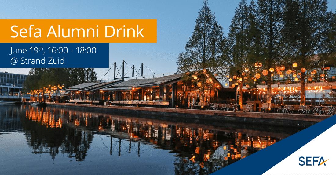 alumni drink banner