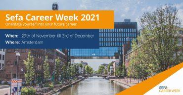 Sefa Career week web banner