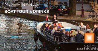 MCC Finance boat tour