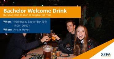 Bachelor welcome drink